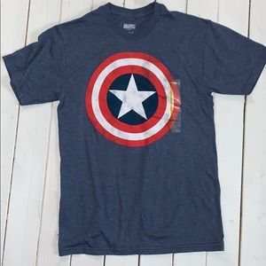 Captain America - Marvel Shirt NWT - S